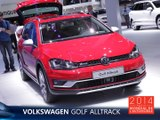 La Volkswagen Golf Alltrack en direct du Mondial de l'Auto 2014