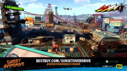 1 heure de gameplay partie 4 de Sunset Overdrive