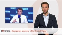 Tacle du jour : Jean-Luc Mélenchon « on n'a jamais vu Macron de gauche »