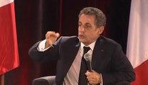 Nicolas Sarkozy : «Je n'ai jamais cédé à la pression de la rue»