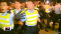 Police, protesters clash in Hong Kong; officers accused of excessive force