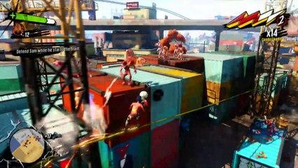 1 heure de gameplay partie 3 de Sunset Overdrive