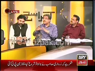 It is PTI Voters duty to register their votes tommorow against Hashmi :- Mubashir Lucman