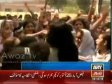Sahiwal Students stood against VIP Culture and chanted GO NAWAZ GO on PML-N Ministers arrival