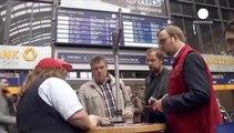 Dos tercios de los trenes de larga distancia cancelados en Alemania por una nueva huelga de maquinistas