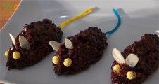 Recette des Souris en chocolat (spéciale goûter d'Halloween) - 750 Grammes