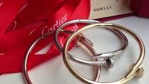 Cartier Juste un Clou Bracelet Yellow Gold, White Gold & Pink Gold