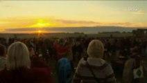 Rassemblement à Stonehenge pour le solstice d'été
