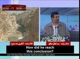 Ahmadinejad accuse les Occidentaux d'assécher l'Iran