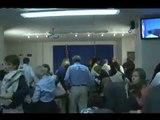 Tremblement de terre: évacuation conférence de presse de Cyrus Vance
