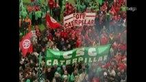 ArcelorMittal : manifestation à Seraing