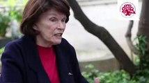 Danielle Mitterrand parle de son combat