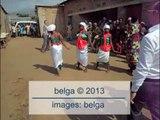 Rudy Demotte s'offre une danse aux couleurs locales au Burundi