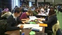 Les bibliothèques prises d'assaut par les étudiants en blocus