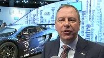 Le Roi à l'inauguration du Salon de l'Auto de Bruxelles