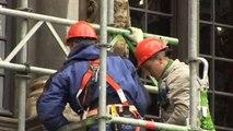 Grands travaux de restauration à la Grand-Place de Bruxelles