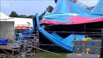 Le site du festival Pukkelpop touché par une tempête