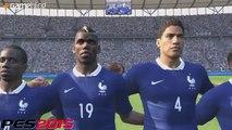 PES 2015 vs FIFA 15 : l'équipe de France, notre comparatif vidéo
