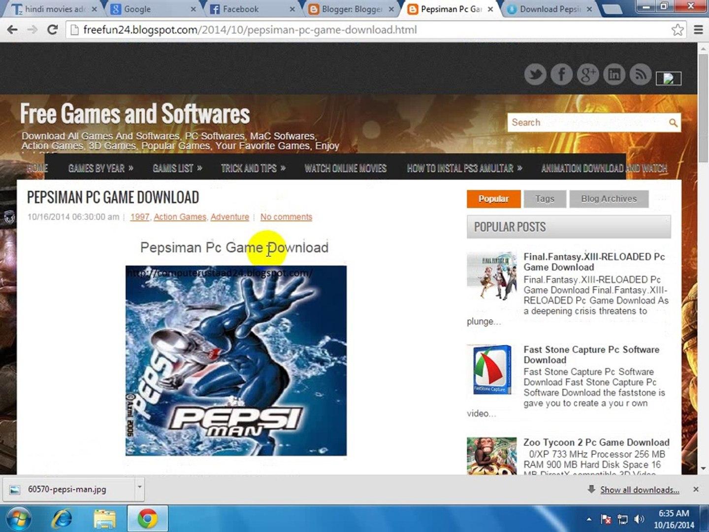 download pepsiman