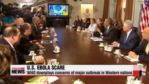 WHO downplays Ebola outbreak fears in U.S.