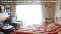 A vendre - appartement - SAINT FONS (69190) - 3 pièces - 75m²