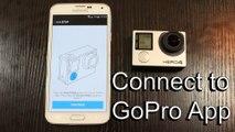 Connect GoPro HERO4 to GoPro App