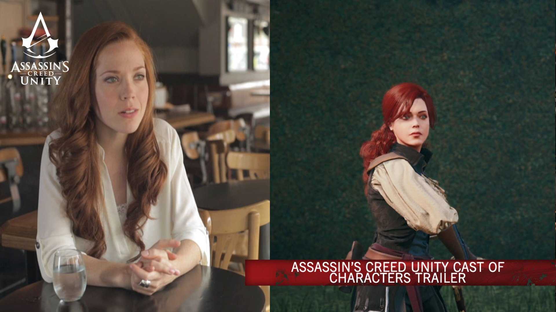 Assassin S Creed Unity Cast Of Characters Trailer Video Dailymotion