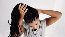 How To Reduce The Weight Of Your Heavy Patra Braids/Box Braids/Senegalese Twists/Micro Braids Etc
