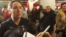 Réactions de Justine Henin