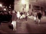 Indignés: un homme renversé par une voiture