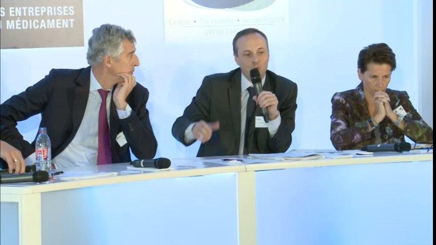 2ème table ronde Colloque Production Pharmaceutique (14/10/2014)
