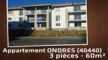 A louer - Appartement - ONDRES (40440) - 3 pièces - 60m²