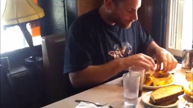 Franks Diner Red Men Challenge