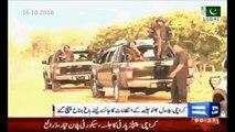 PPP Karachi Jalsa preparation - Bilawal Zardari visits jalsa venue.