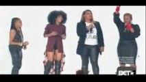 Brandy , Mc Lyte , Yo Yo and Queen Latifah Bet Hiphop Awards 2014  female hiphop Thoughts