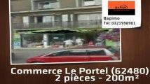 A vendre - bureau et commerce - Le Portel (62480) - 2 pièces - 200m²