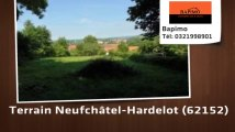 A vendre - terrain - Neufchâtel-Hardelot (62152)