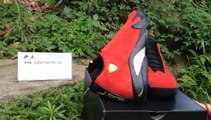 2014 NBA Season Authentic Air Jordan 14 Retro Ferrari Mens Basketball Shoes Review From Sportsyyy.cn