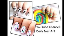 3 nail designs for kids! ❤ To do at home Easy do it step by step beginners art superWOWstyle