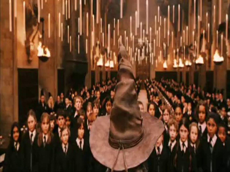 La Scene Du Choipeaux Magique Dans Harry Potter Video Dailymotion