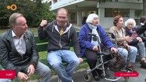 SUJET- Les aînés ont retrouvé leurs bancs à la rue de la Calle