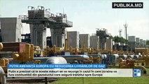 După ce a ameninţat Occidentul că va folosi arma nucleară, Putin avertizează că poate închide şi gazul