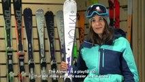 Ski VOLKL ALESSIA - Gamme Rouge Femme Intersport 2015