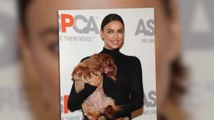 Irina Shayk Shows Of her Softer Side