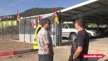 Grève à la centrale électrique de Lucciana : les grévistes bloquent la salle de commande