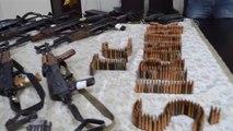 12 Uzun Namlulu Silah ve Mühimmat Ele Geçirildi