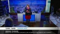 """Marisol Touraine: """"On fait des réformes avec le sens de la justice"""""""