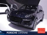 Le Porsche Cayenne restylé en direct du Mondial Auto 2014