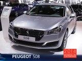 La Peugeot 508 restylée en direct du Mondial de l'Auto 2014