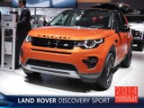 Le Land Rover Discovery Sport en direct du Mondial de l'Auto 2014